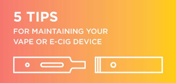 Tips for Vaporizer and e-Cig Maintenance