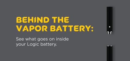 What Goes On Inside Logic Vaping Batteries