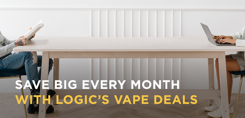 Save Big Every Month with Logics Vape Deals