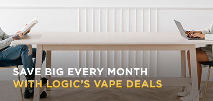 SAVE BIG EVERY MONTH WITH LOGIC'S VAPE DEALS