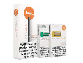 Vapeleaf Device And Capsules