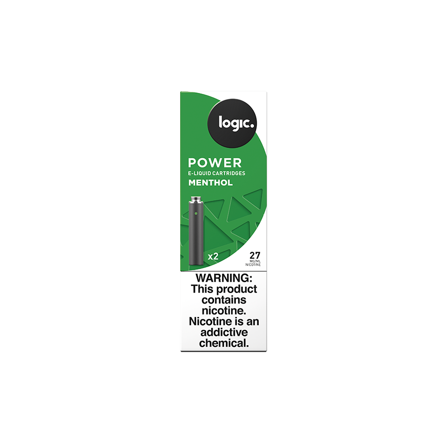 Logic Power Cartridge Refills Menthol