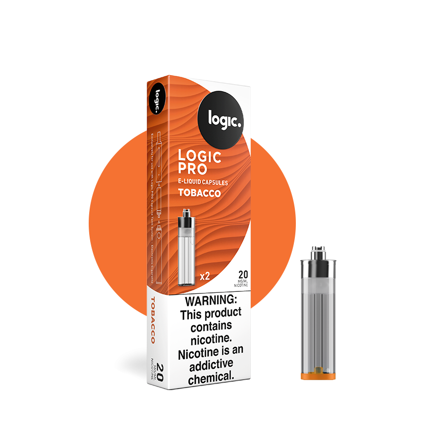 Logic Pro Tobacco Capsule Refill Pack