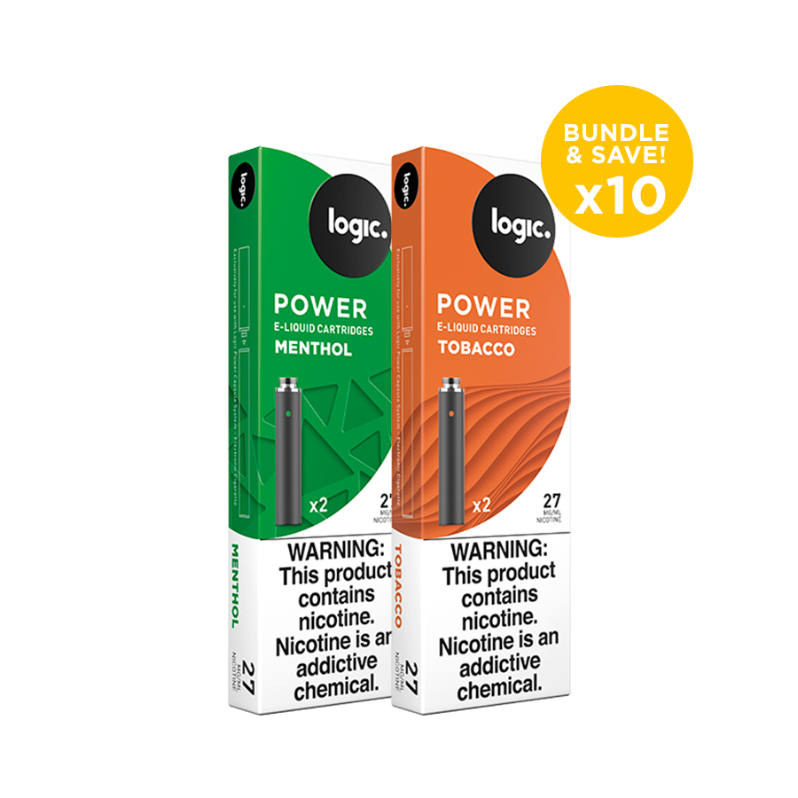 Logic Power Refill Bundle- 10 Cartridge Packs